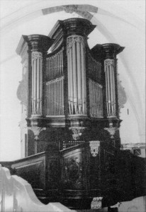 Orgel Waalse kerk Breda